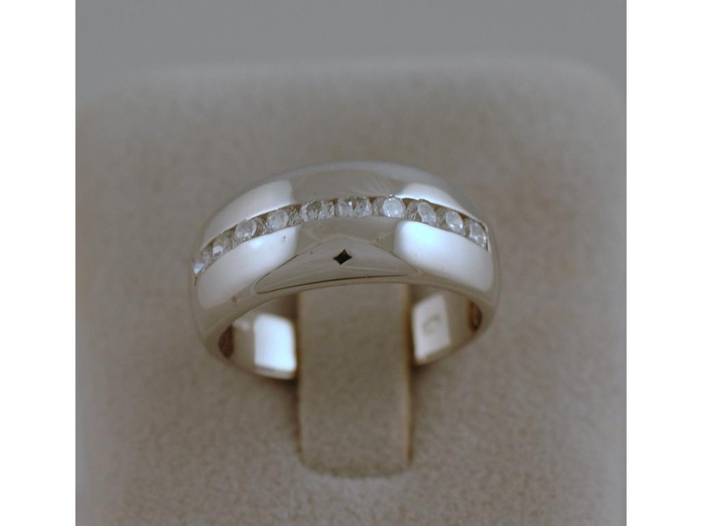 Stříbrný prsten Daria