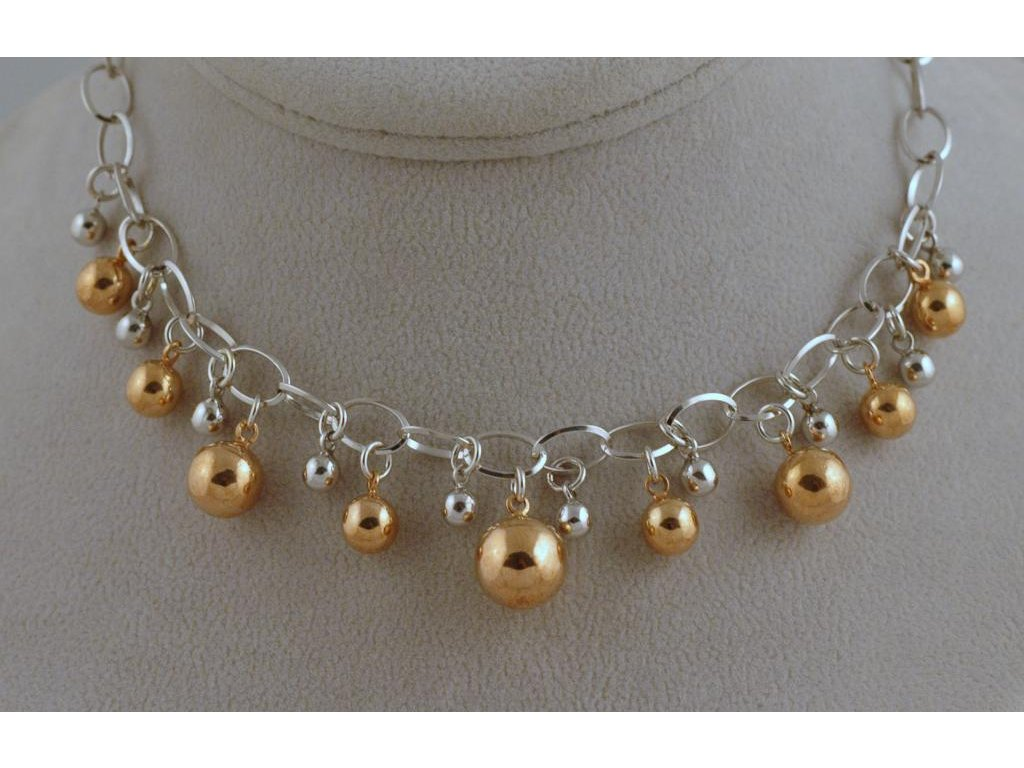 Stříbrný náhrdelník Alin