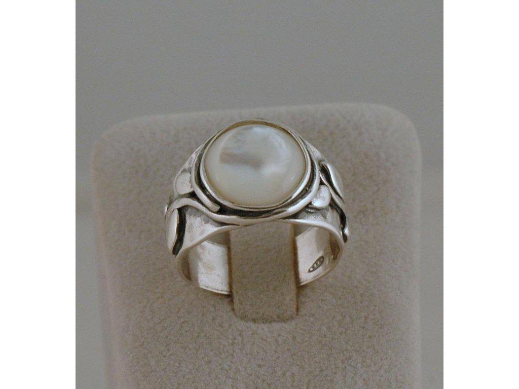 Stříbrný prsten Nioba