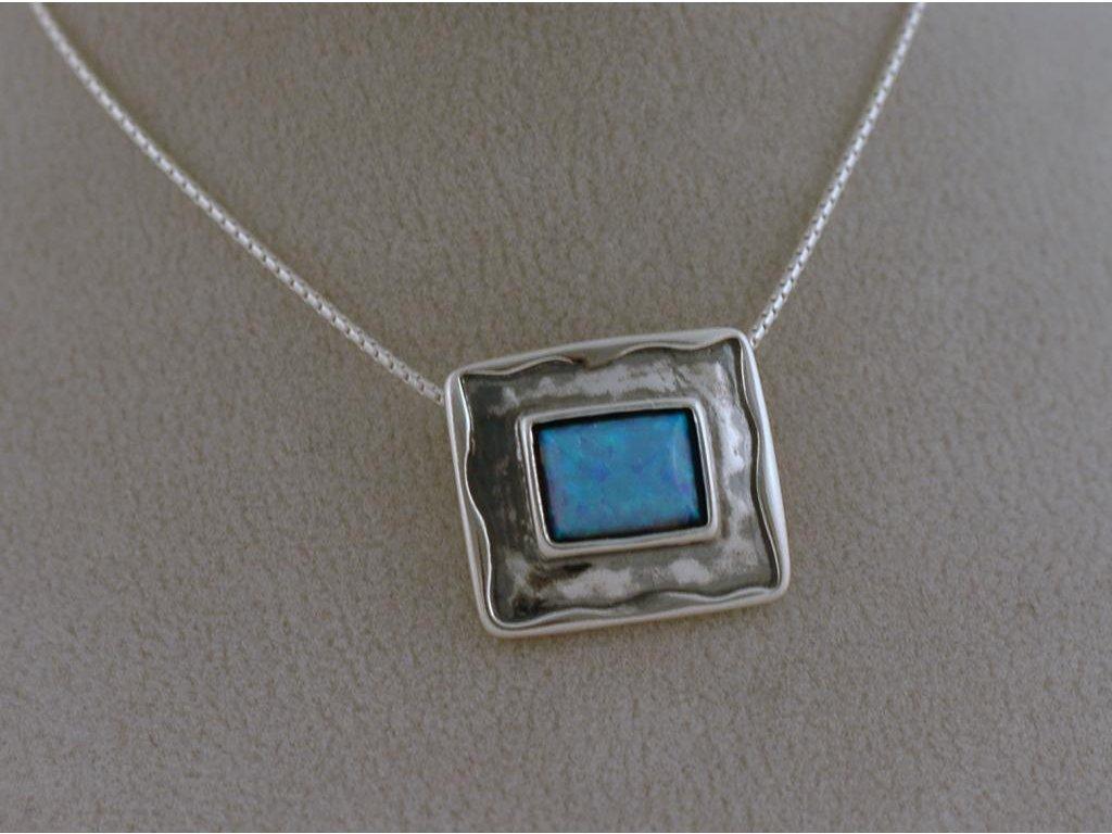 Stříbrný náhrdelník Azra