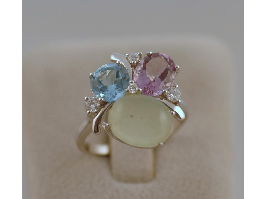 Stříbrný prsten Chloe