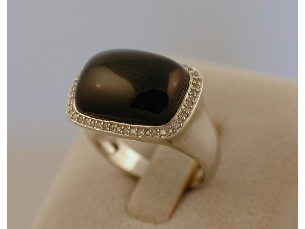 Stříbrný prsten Alan