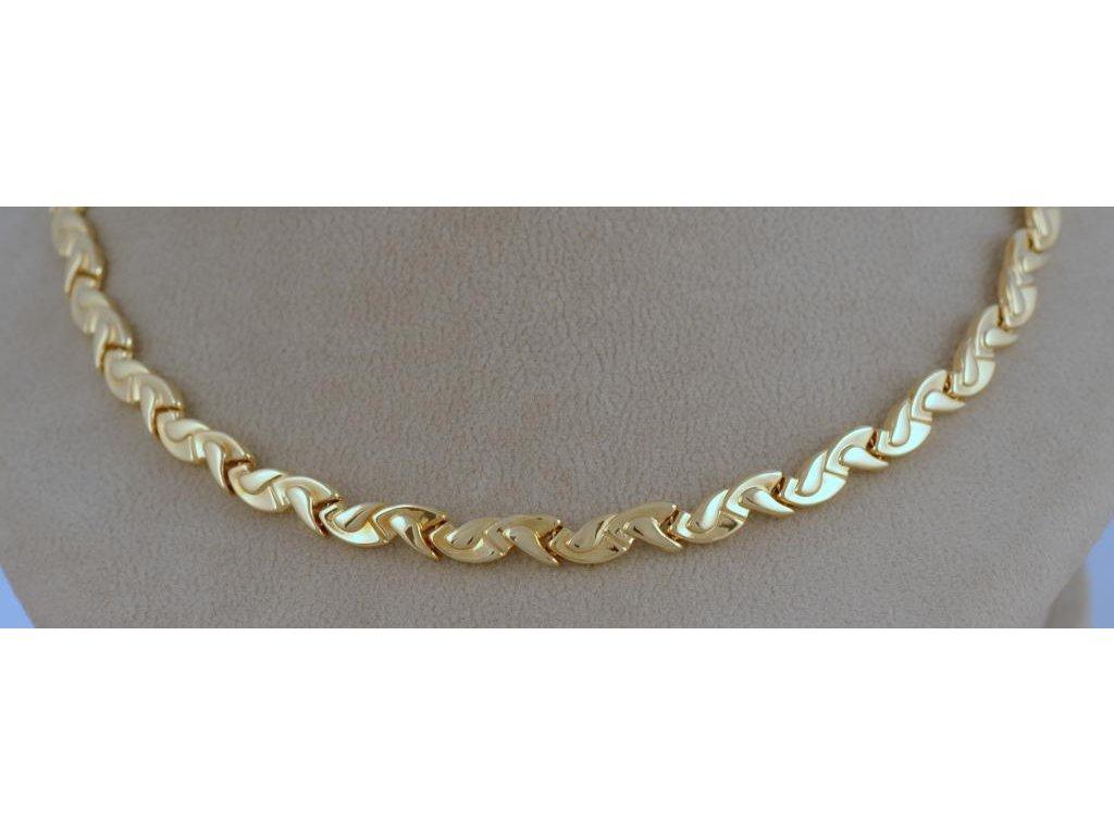 Zlatý náhrdelník Terezie