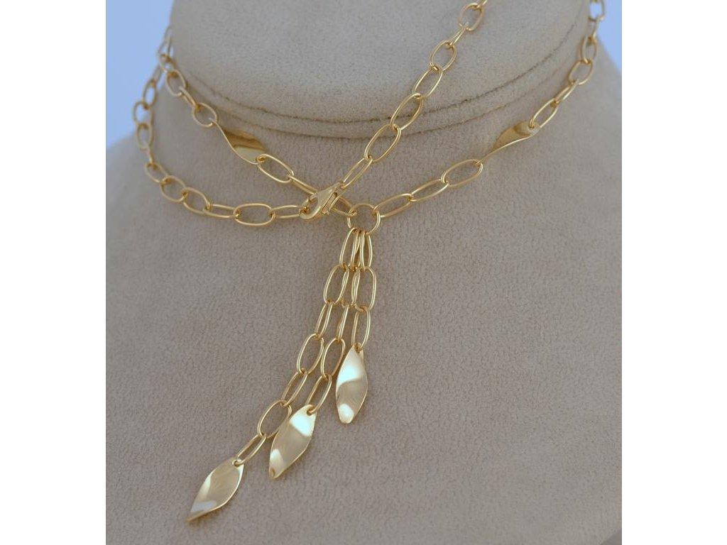 Zlatý náhrdelník Romeo