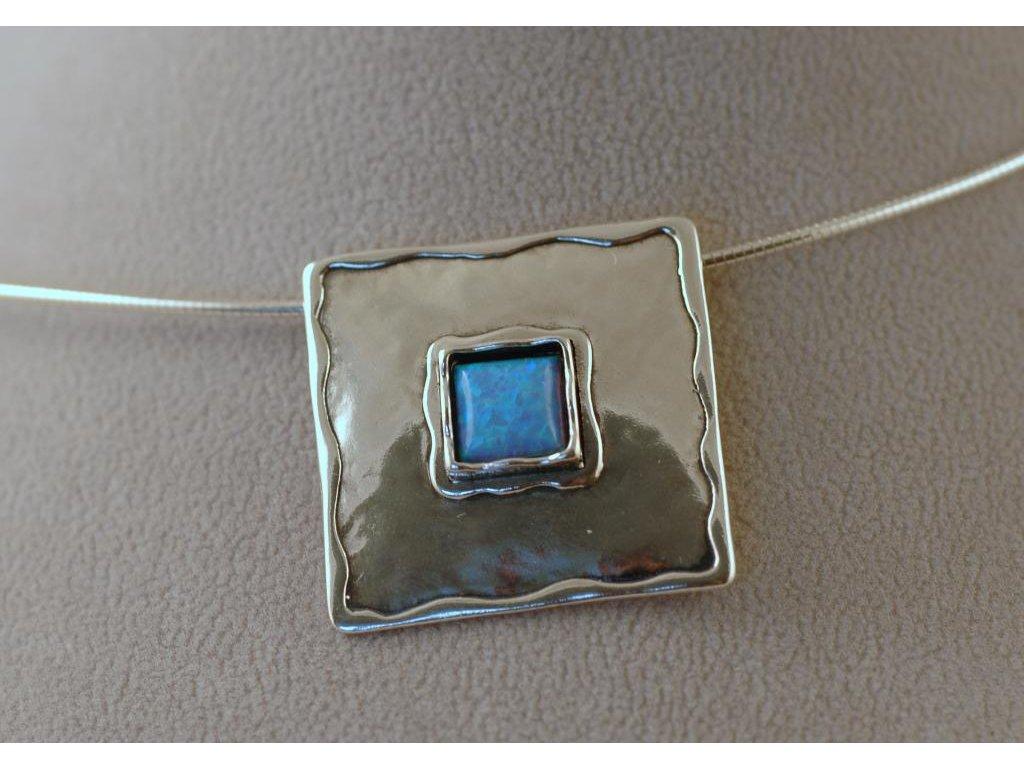 Stříbrný náhrdelník Amanda