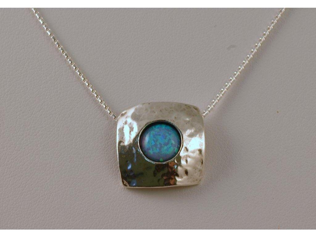 Stříbrný náhrdelník Dalida