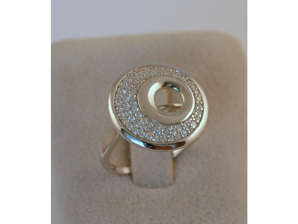 Stříbrný prsten Senta