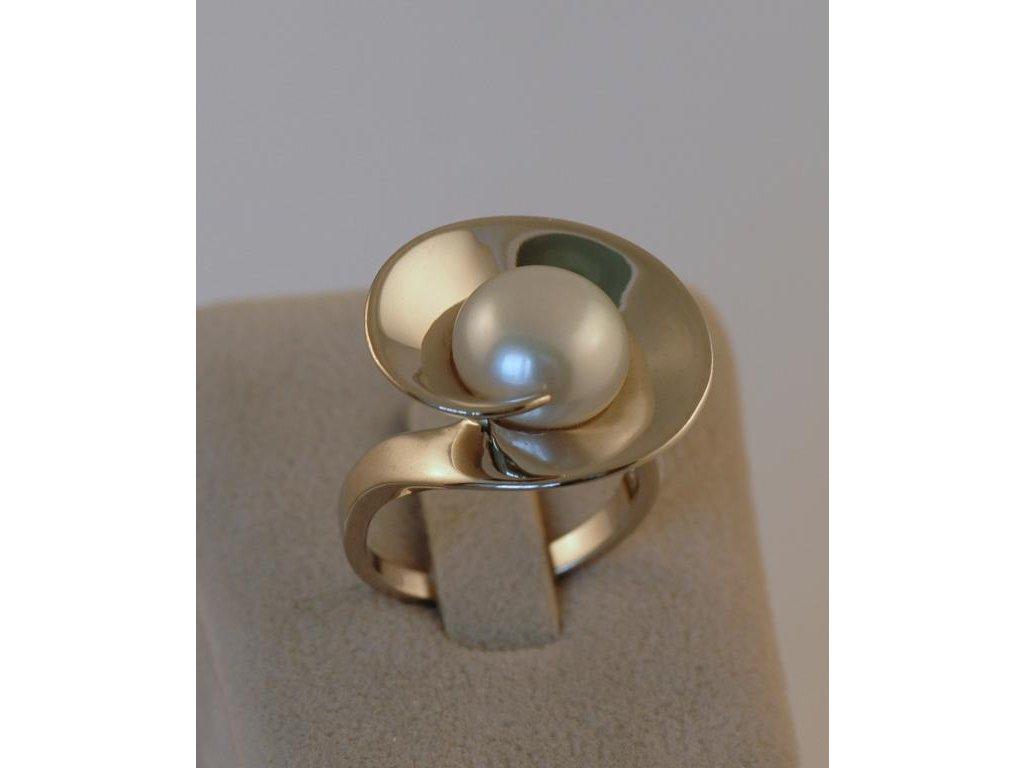 Stříbrný prsten Bela