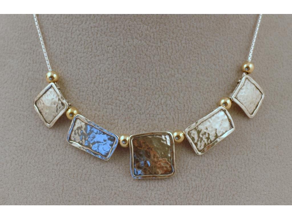 Stříbrný náhrdelník Pelagie