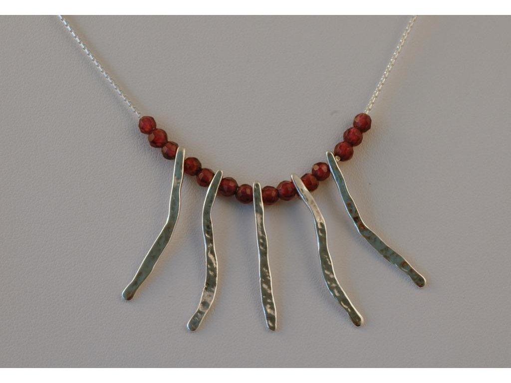 Stříbrný náhrdelník Zaida