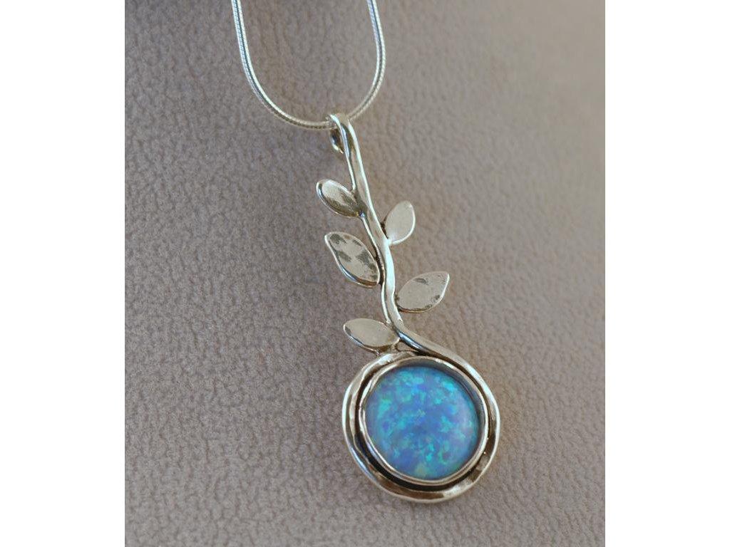 Stříbrný náhrdelník Ilsa