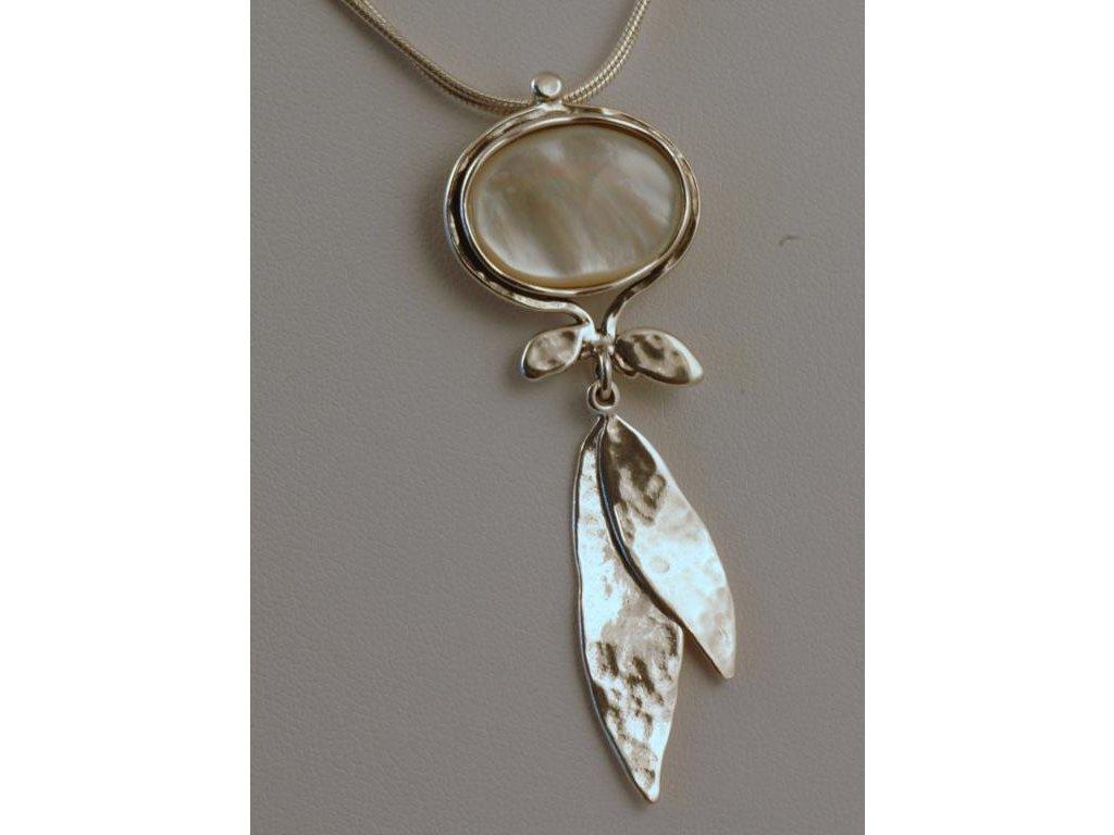 Stříbrný náhrdelník Orfea