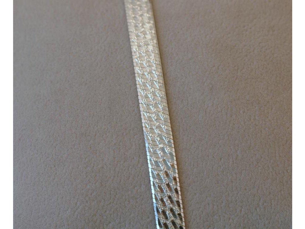 Stříbrný náramek Arleta