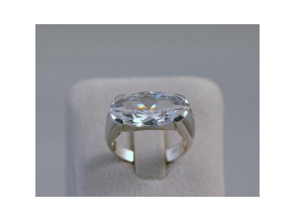 Stříbrný prsten Bibiana