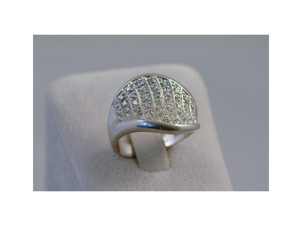Stříbrný prsten Belinda