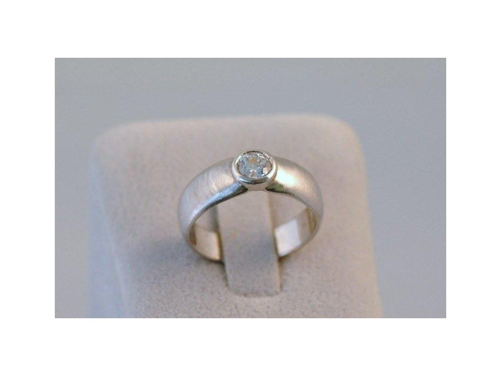 Stříbrný prsten Adam
