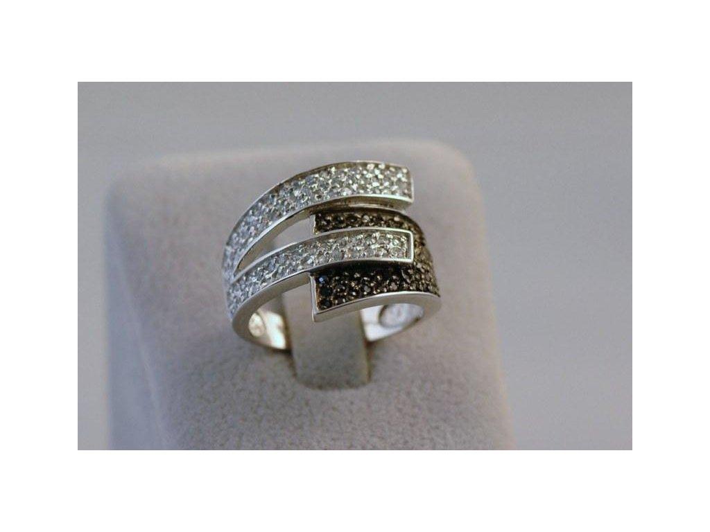 Stříbrný prsten Ester