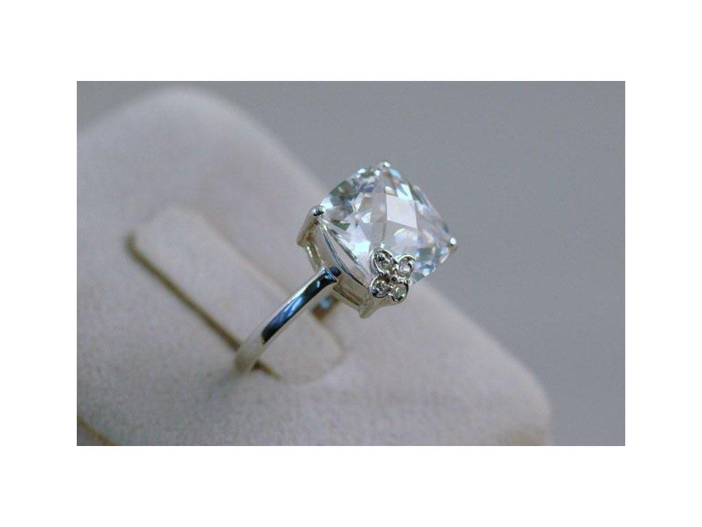 Stříbrný prsten Marcel