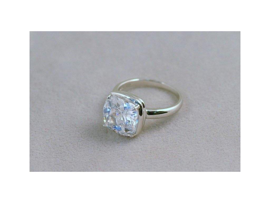 Stříbrný prsten Eduard