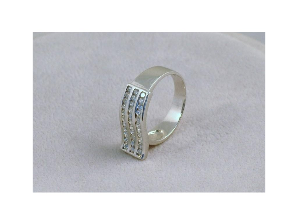 Stříbrný prsten Sharon