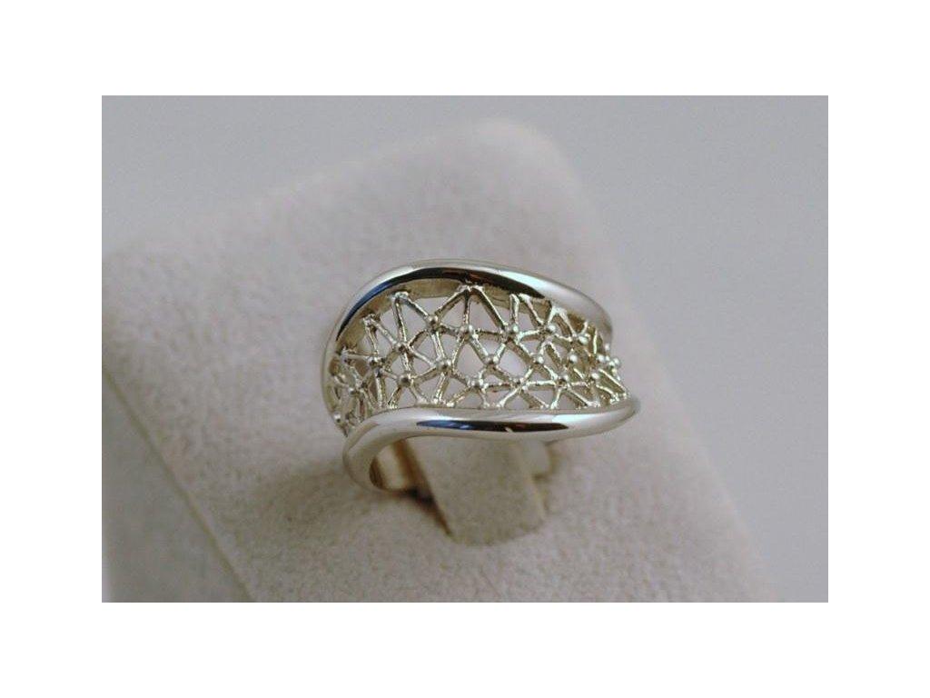 Stříbrný prsten Margaret