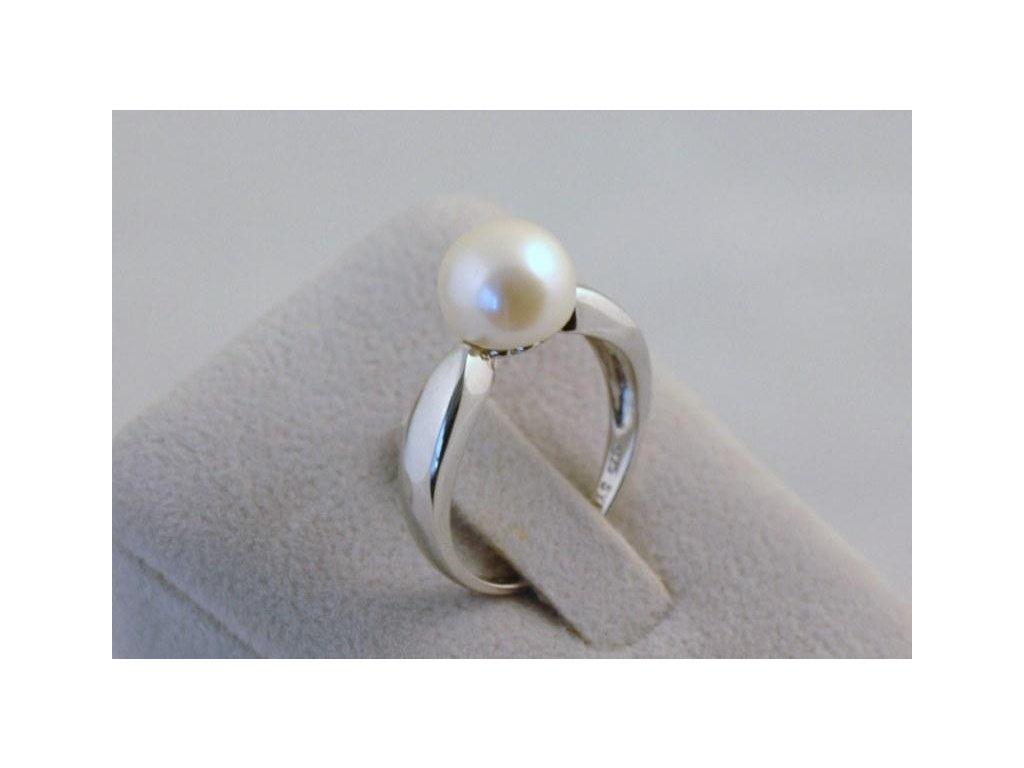 Stříbrný prsten Aviva