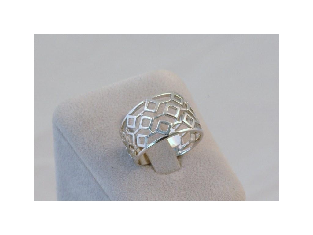 Stříbrný prsten Kitty
