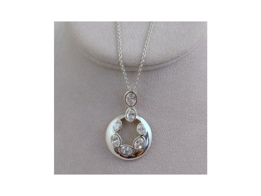 Stříbrný náhrdelník Beáta