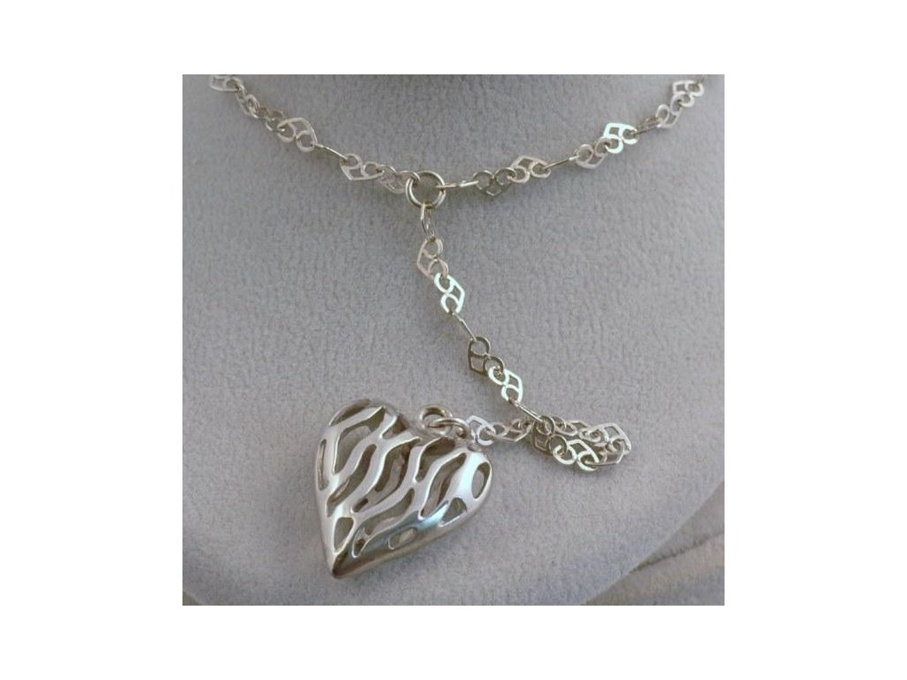 Stříbrný náhrdelník Melvin