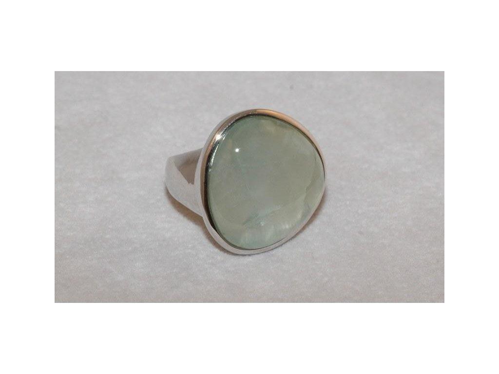 Stříbrný prsten Jade
