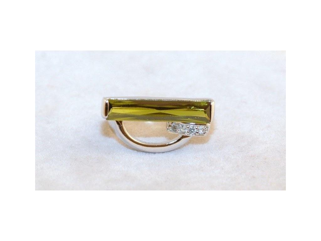 Stříbrný prsten Tony
