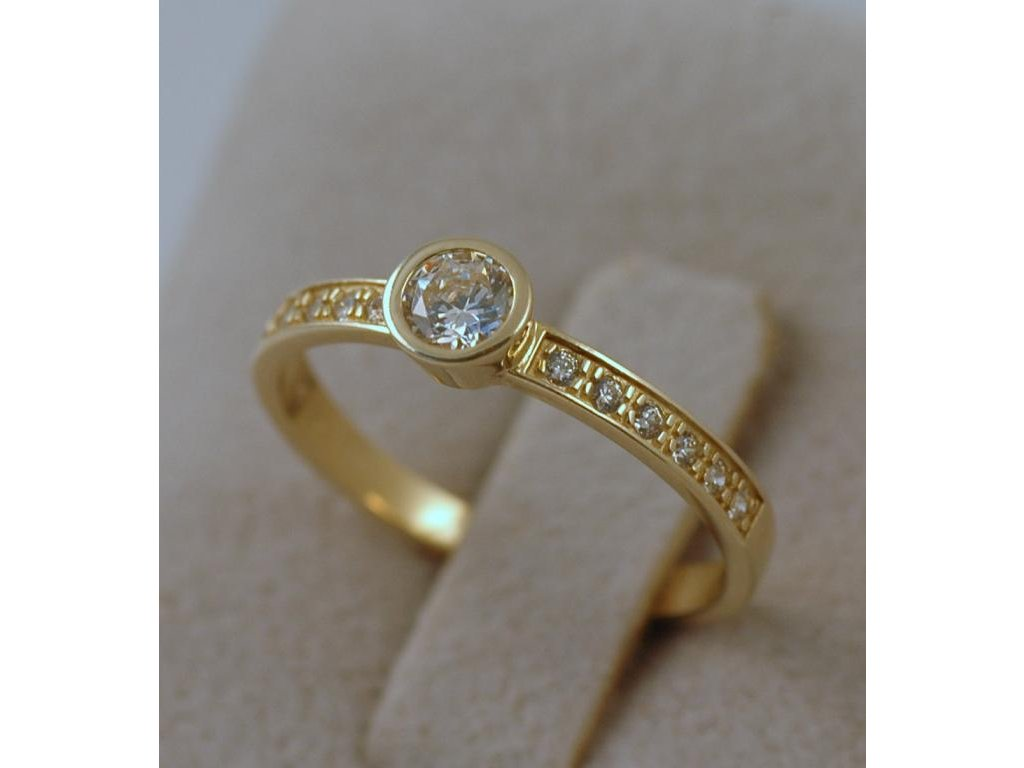 Zlatý prsten Victoria