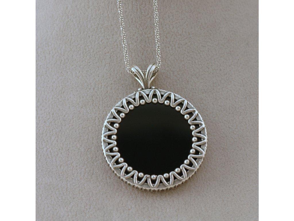 Stříbrný náhrdelník Alexa