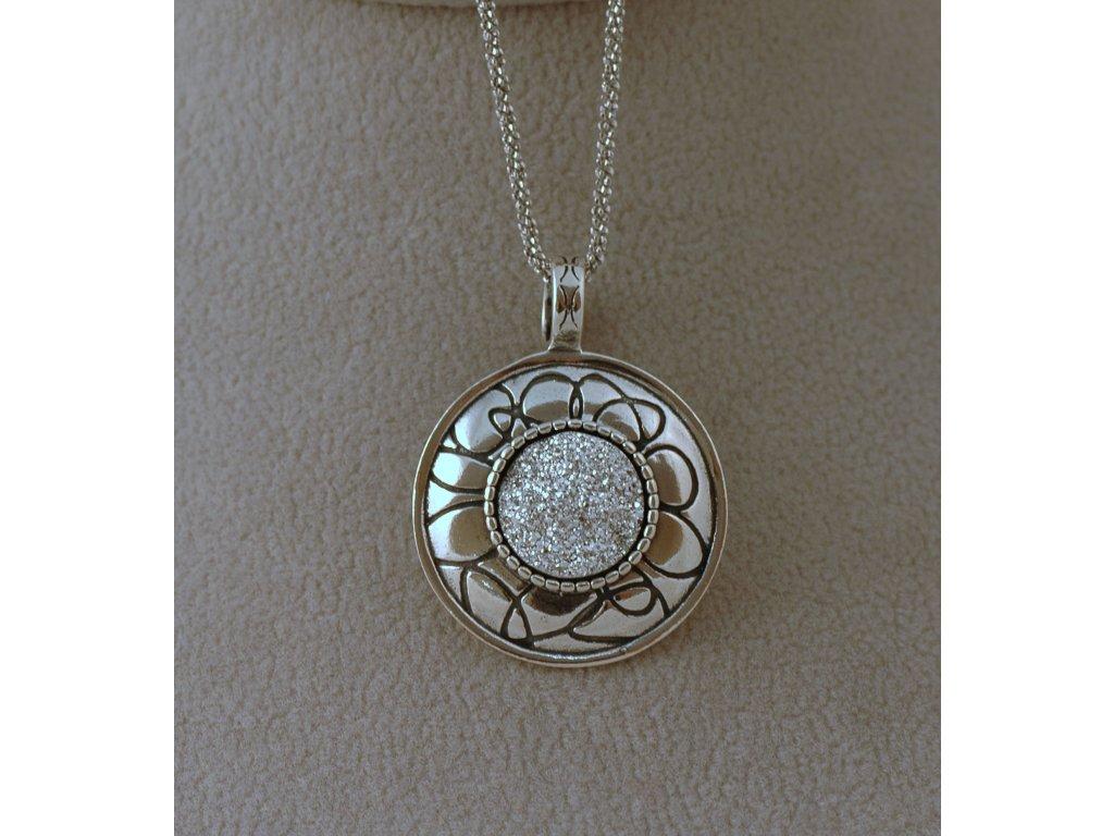 Stříbrný náhrdelník Rega