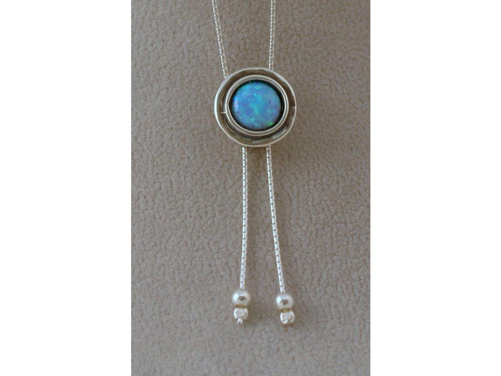 Stříbrný náhrdelník Adinel