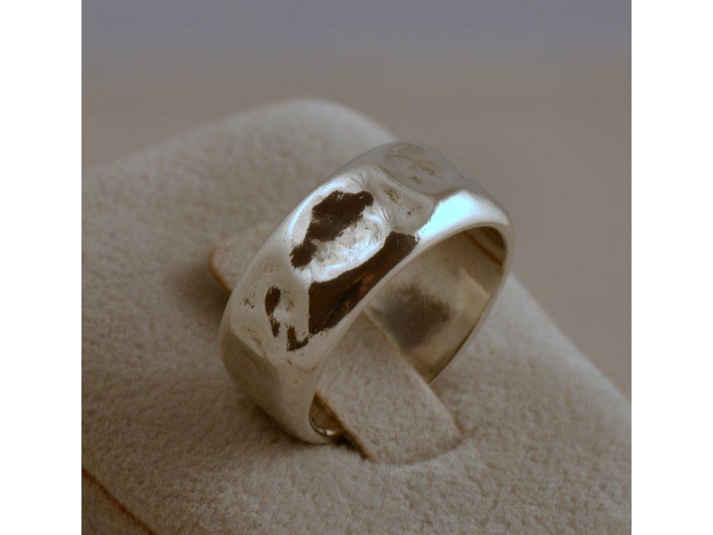 Stříbrný prsten Alida