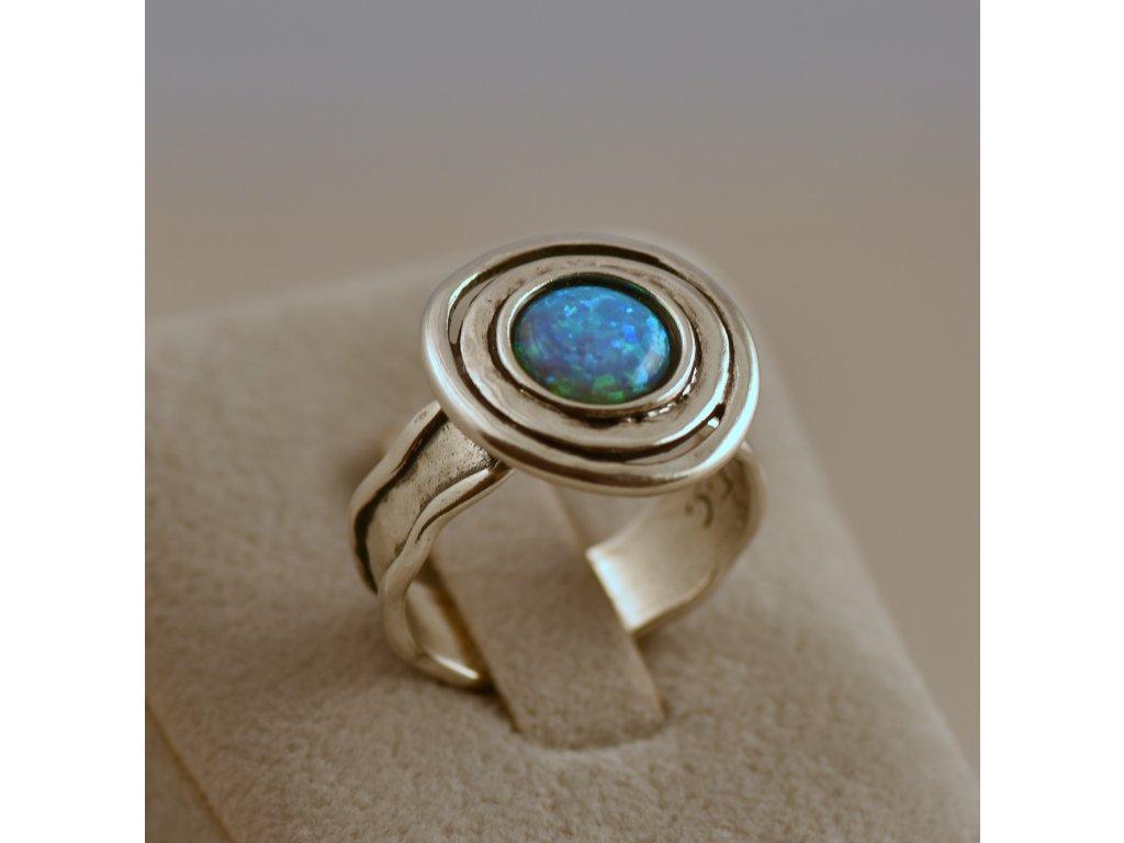 Stříbrný prsten Emilián