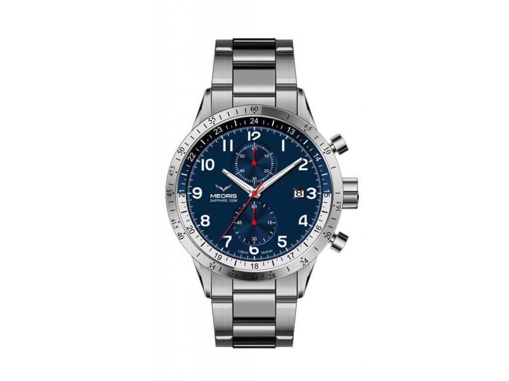 Pánské hodinky MEORIS titanové Explorer Chronograf Supertitanium NB