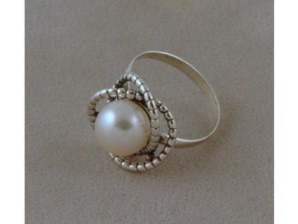 Stříbrný prsten Dulcinea