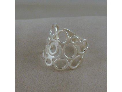 Stříbrný prsten Ria