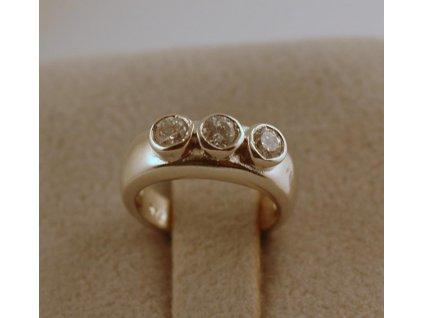 Stříbrný prsten na nohu Ali 003
