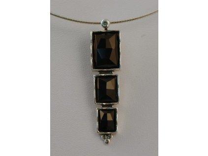 Stříbrný náhrdelník Nora