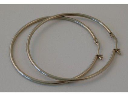 Náušnice z chirurgické oceli Vanesa