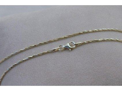 Stříbrný řetízek Kvido