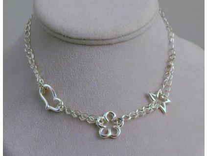 Stříbrný náhrdelník Otmar