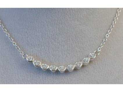 Stříbrný náhrdelník Marina