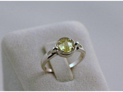 Stříbrný prsten Jolana