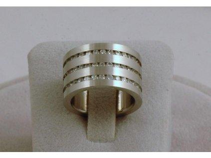 Prsten z chirurgické oceli Vincent