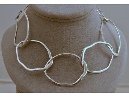 Stříbrný náhrdelník Tamara