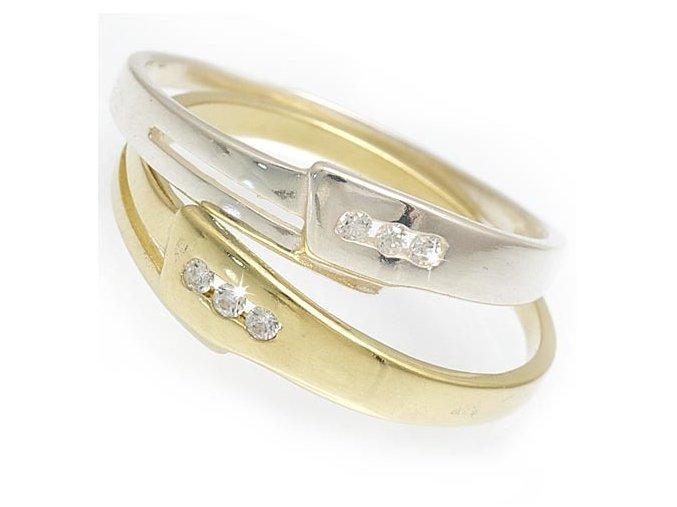 Janus - prsten stříbro 925/1000